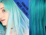 How to Remove Blue Hair Dye from Hair Without Bleaching
