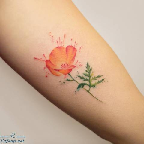These Watercolor Tattoos Are Serious Works of Art