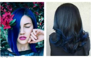 BLUE HAIR, DON'T CARE – TIPS ON HANDLING CARE AND COMMENTS