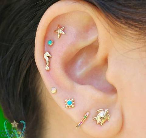 20 Ear Piercing Ideas That'll Convince You to Curate Your Ear RN