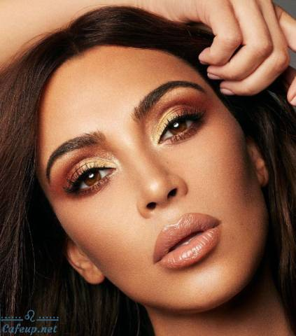 The secret to creating the perfect foundation of Kim Kardashian