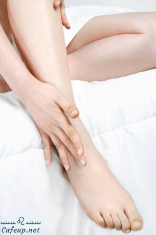 Foot skincare in the cold season