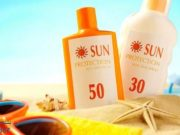 How many sunscreen should be applied during the day?
