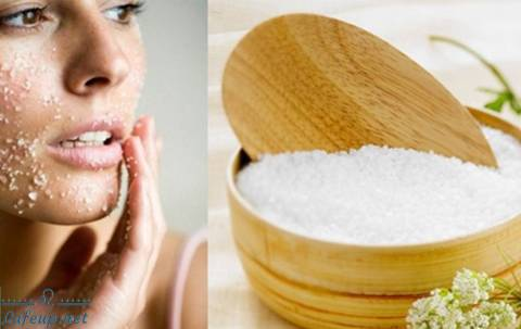 Salt - Effective method of exfoliating