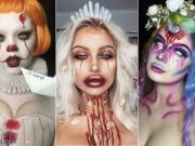 The trend of Halloween makeup on Instagram