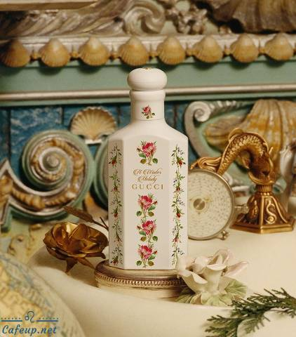 The scent of perfume for the sweet winter tone